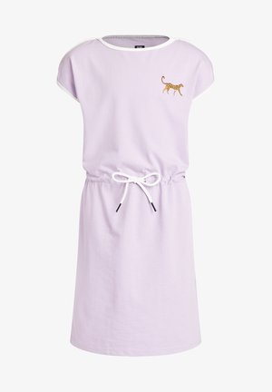 PANTER EMBROIDERY - Jersey dress - lilac