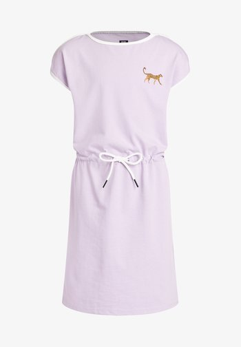 PANTER EMBROIDERY - Jerseykjoler - lilac