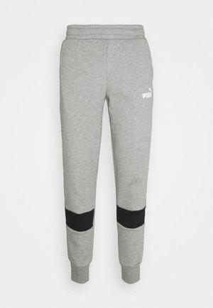 COLORBLOCK PANTS - Pantalon de survêtement - medium gray heather