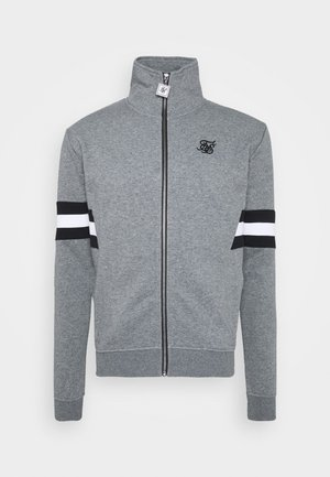 LUXE ZIP THROUGH FUNNEL NECK - Zip-up hoodie - grey