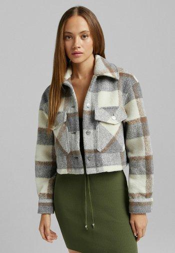 MIT KAROMUSTER - Summer jacket - beige