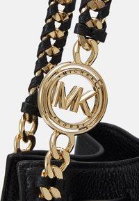 MICHAEL Michael Kors - MINA CHAIN TOTE - Handbag - black - 4