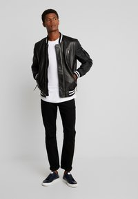 Be Edgy - BESASCHA - Leather jacket - black - 1