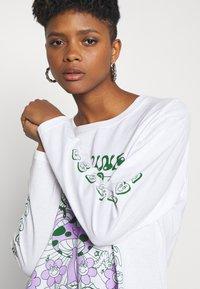 NEW girl ORDER - DOPAMINE TOP - Long sleeved top - white - 3