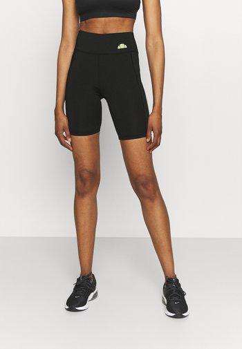 KAFFION SHORT - Leggings - black