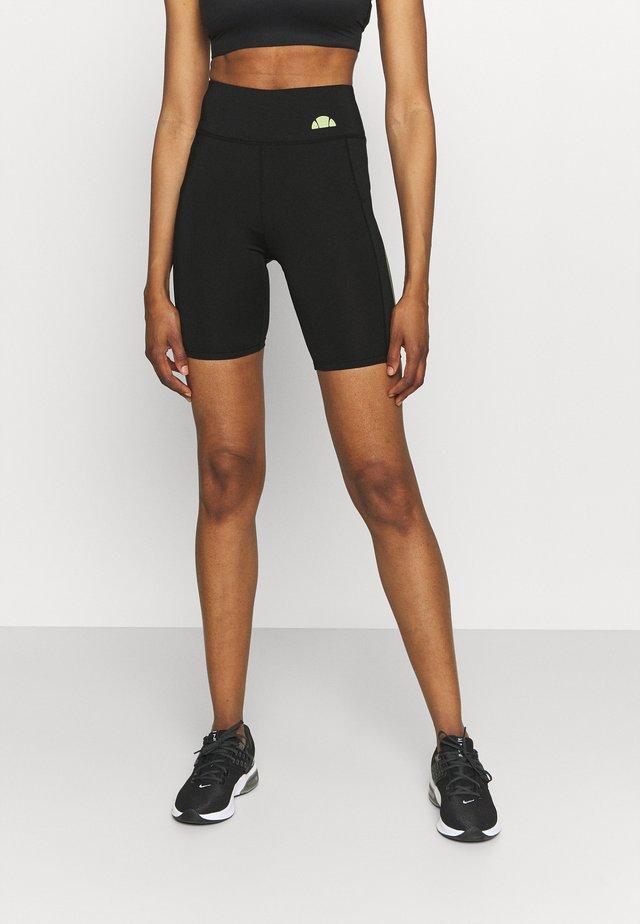 KAFFION SHORT - Legging - black
