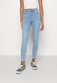 Gina Tricot - HIGHWAIST - Jeans Skinny Fit - sky blue - 0