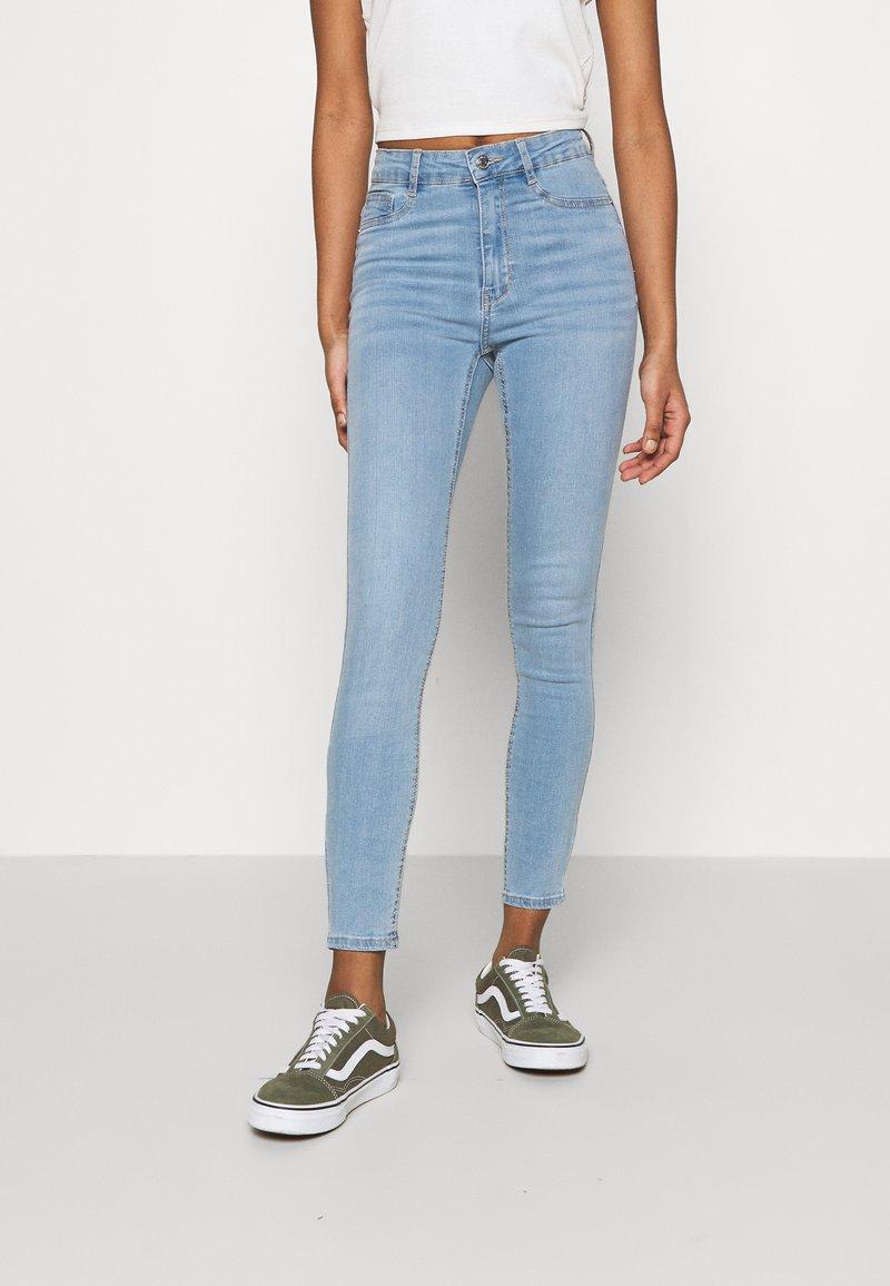 Gina Tricot - HIGHWAIST - Jeans Skinny Fit - sky blue