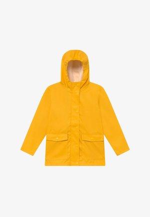 NKNMIL RAIN JACKET - Vodotěsná bunda - golden rod