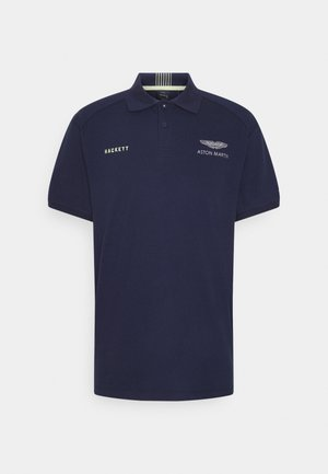 AMR CUT LINES - Polo - navy