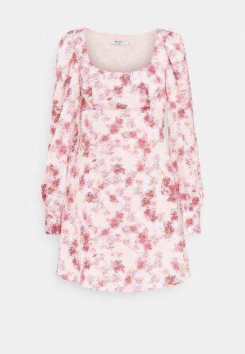 PUFF SLEEVE DRESS - Day dress - rose