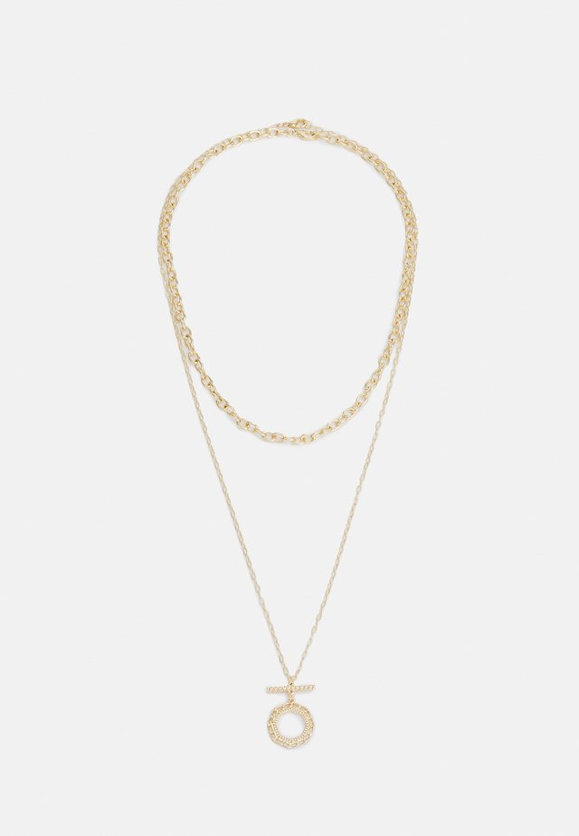 OPEN TBAR MULTIROW 2 PACK - Necklace - gold-coloured