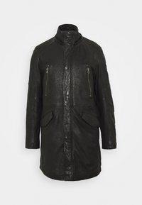 Gipsy - GBESMOND - Leather jacket - black - 2