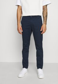 Only & Sons - ONSCAM AGED CUFF - Kangashousut - dress blues - 0