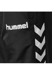 Hummel - CORE MICRO - Träningsbyxor - black - 3