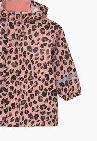 Lindex - SMALL KIDS - Vodotěsná bunda - pink - 4