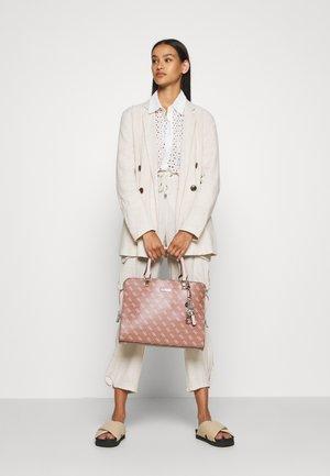 CAMY LARGE GIRLFRIEND SATCHEL - Handbag - cinnamon multi