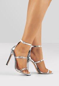 Only Maker - High heeled sandals - silver - 0