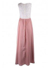 Unique - Maxi dress - rosa weiß - 1
