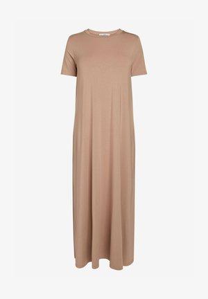 COLUMN  - Maxi dress - light brown