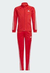 adidas Performance - TEAM - Trainingspak - red - 9