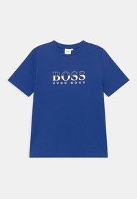 BOSS - SHORT SLEEVES TEE - Print T-shirt - blue - 0