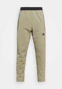 adidas Performance - MENS YOGA PANT - Tracksuit bottoms - orbit green - 3