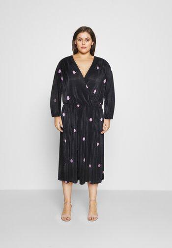 CARLENA BALOON DRESS - Day dress - black