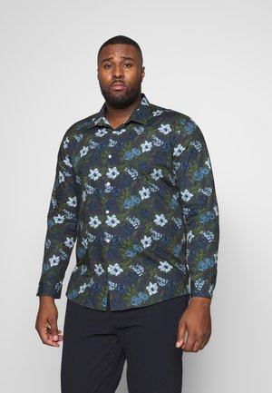 LARGE FLORAL - Camicia - blue