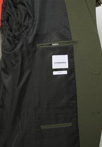 Lindbergh - PLAIN MENS SUIT - Kostym - deep army - 7