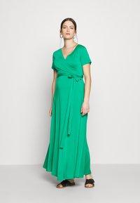 LOVE2WAIT - LONG DRESS NURSING - Maxi šaty - green - 1