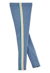 Next - ANIMAL PRINT - Leggings - Trousers - mottled light blue - 2