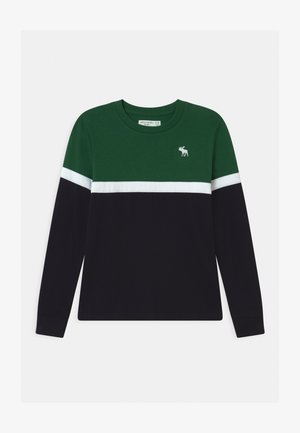 CHEST STRIPE - Langarmshirt - green