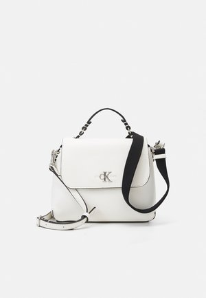 MINI TOP HANDLE - Handbag - white