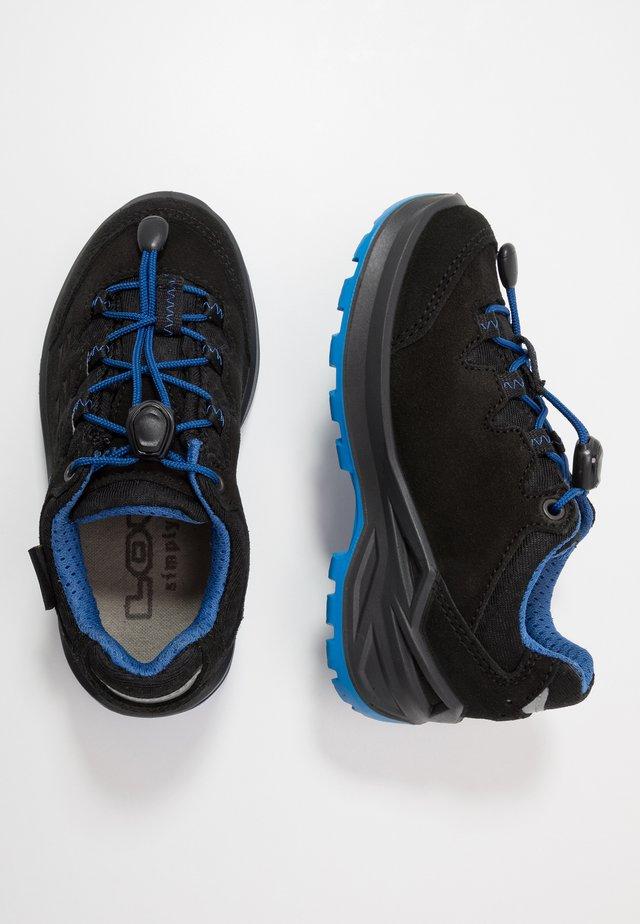 DIEGO II GTX  - Vaelluskengät - schwarz/blau