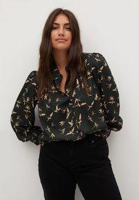 Violeta by Mango - LAURAP - Button-down blouse - schwarz - 0