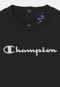 Champion - BASIC LOGO TODDLER CREWNECK SET UNISEX - Trainingspak - black - 3