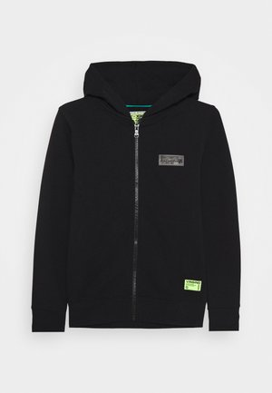 UBBION - Zip-up hoodie - deep black