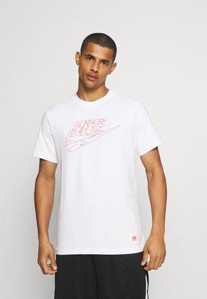TEE  AIR  - Print T-shirt - white