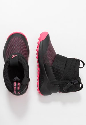 RAPIDASNOW - Winter boots - core black/real pink/footwear white