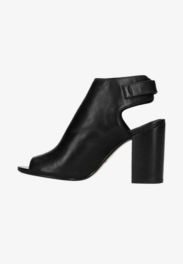 MIT PEEPTOE - Sandalen met hoge hak - black