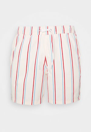 MULA STRIPE TRUNK - Plavky - red/blue