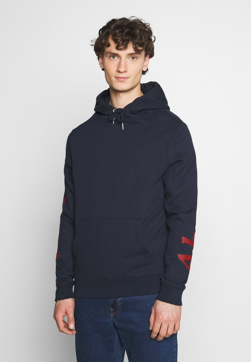 Abercrombie & Fitch - EXPLODED LOGO - Sweatshirt - navy