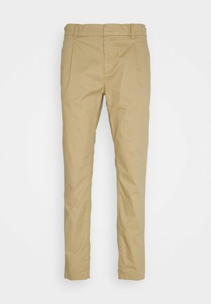 SOLID STRETCH - Chinos - smoked beige