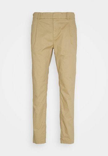 SOLID STRETCH - Chinot - smoked beige