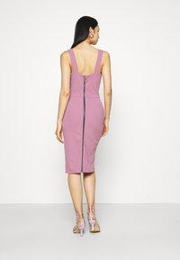 WAL G. - KADINE MIDI DRESS - Cocktail dress / Party dress - mauve pink - 2