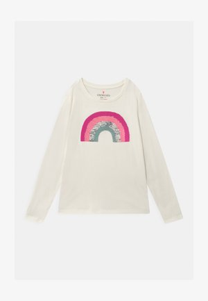 RAINBOW - Long sleeved top - white