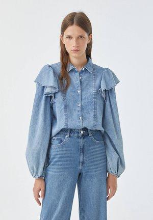 Skjortebluser - blue-grey