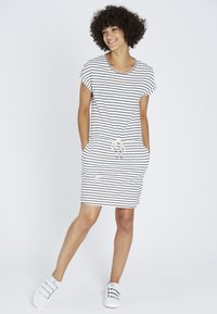 recolution - Jersey dress - navy / white - 0