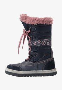 Lurchi - ALPY-TEX - Winter boots - navy/rose - 1